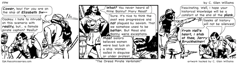The Dread Pirate Verbinski!