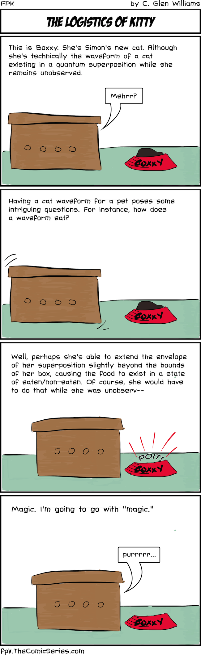 The Logistics of Kitty