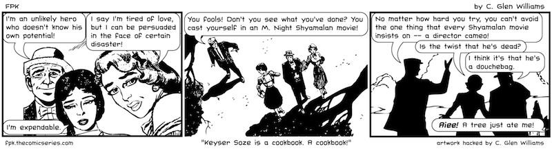 Keyser Soze is a cookbook. A Cookbook!